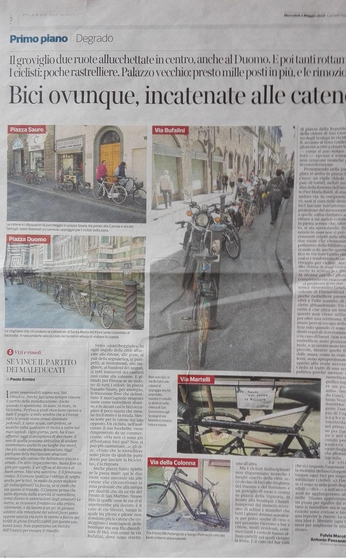 Corriere Firentino 4 Mag. 16BIS
