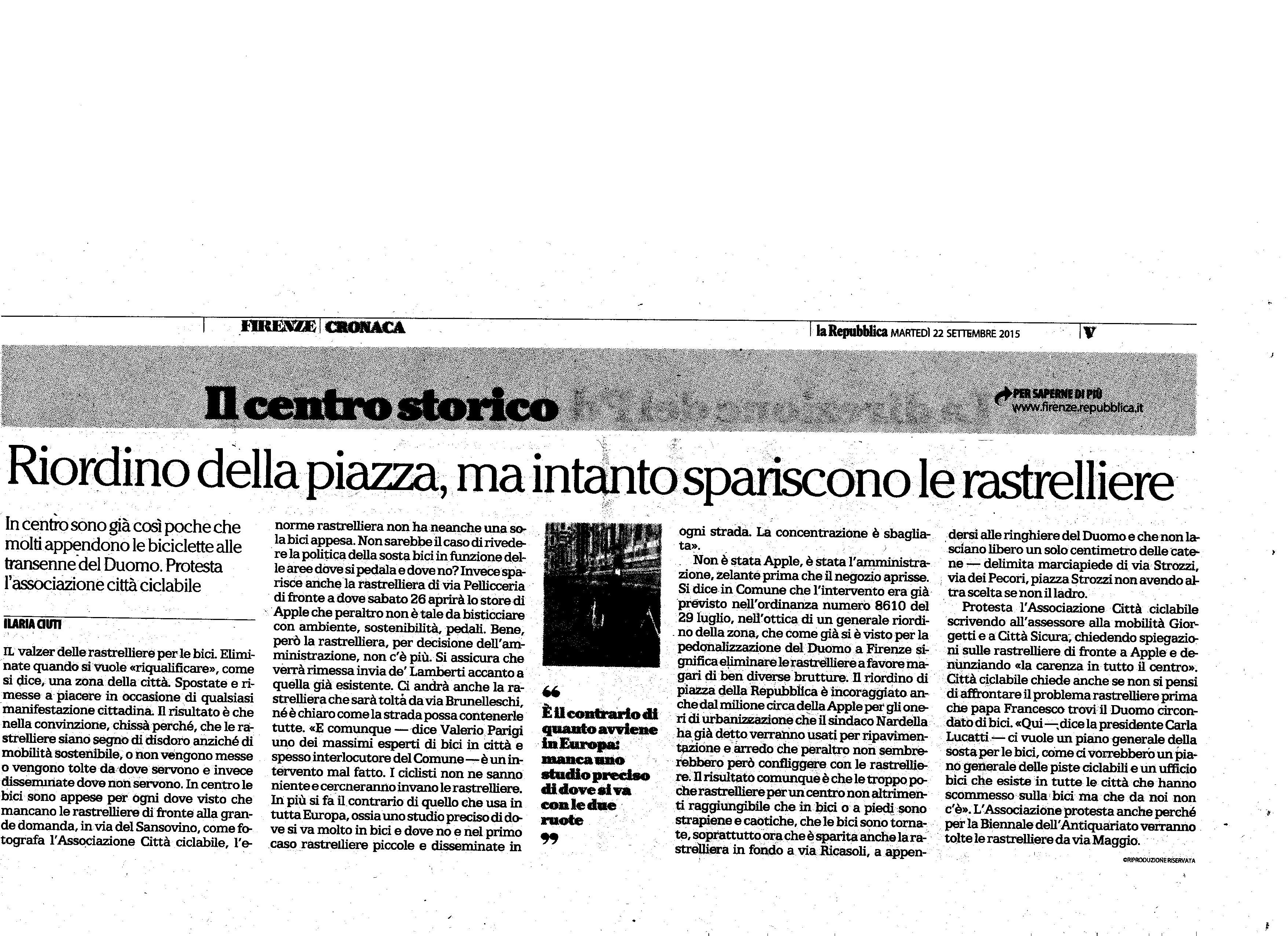 La Repubblica 22Sett.15
