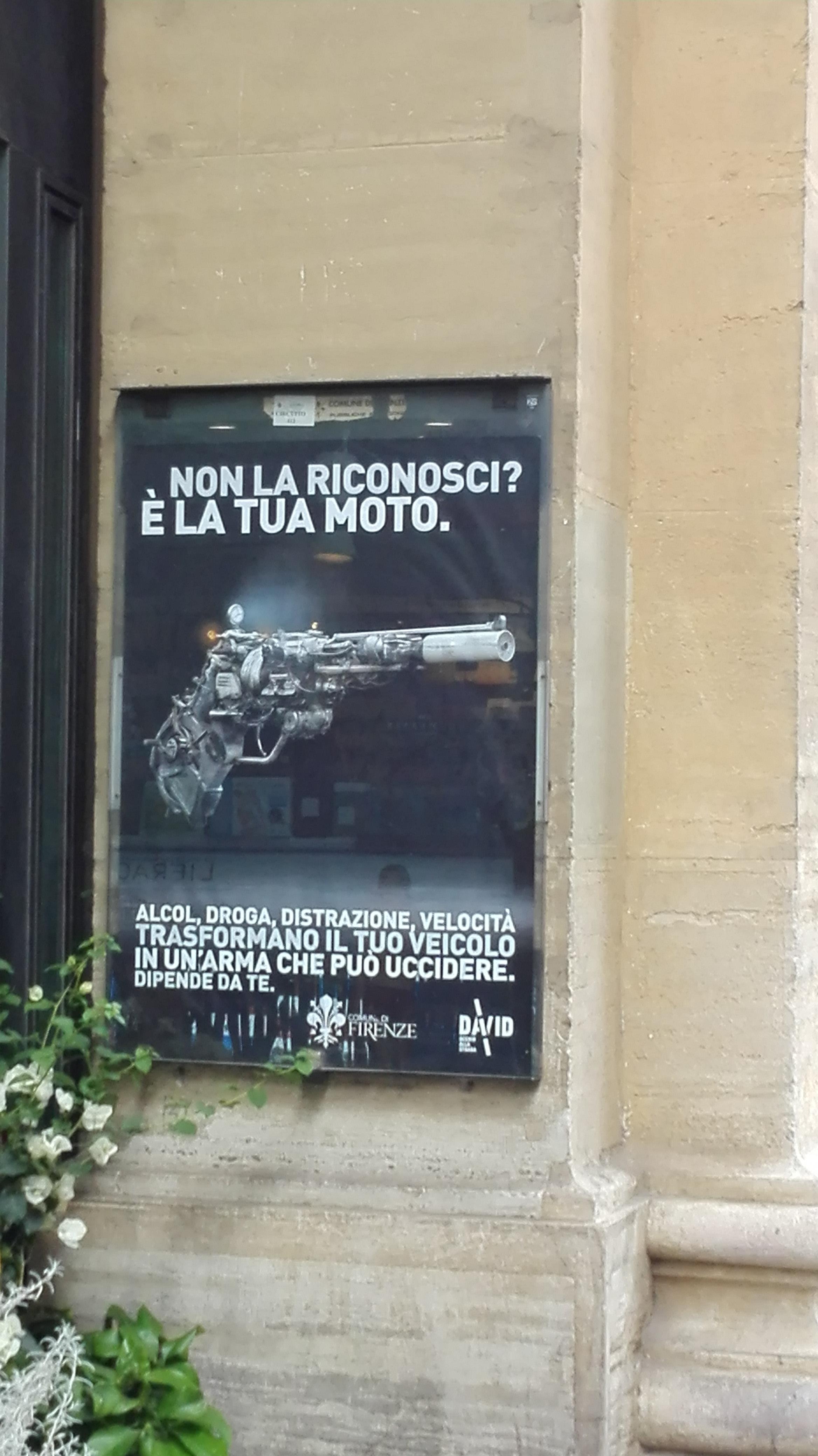 moto come arma