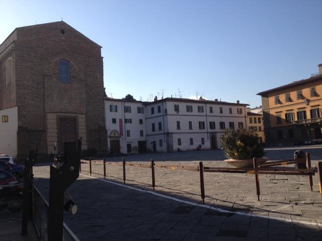 p.za del Carmine pedonal