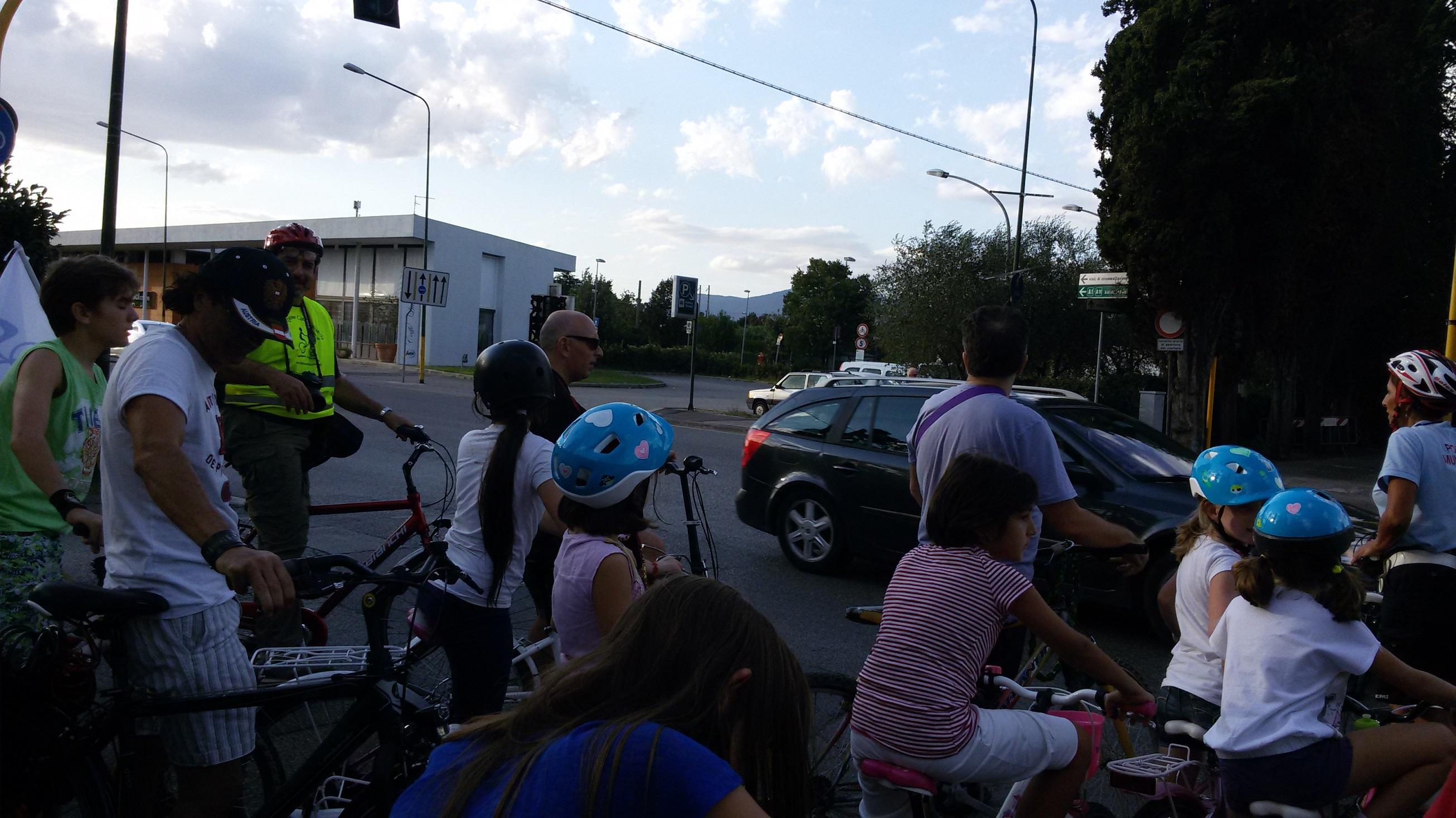 pedalata Si torna s scuola in bici